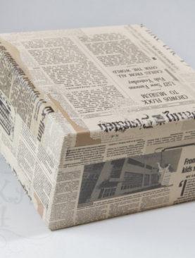 Коробка Газета