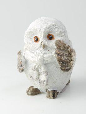 Заснеженная сова