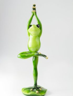 Лягушка / Йога / Березка / 20 см