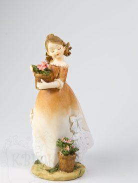 Любительница цветов
