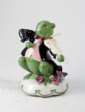 Музыкальная лягушка