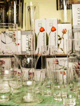 Стеклянные вазы (в ассортименте)