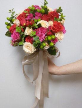 Свадебный букет Счастье