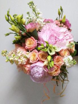 Букет Розовая нега