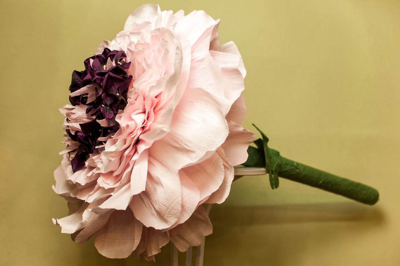 Бумажные цветы Пионы