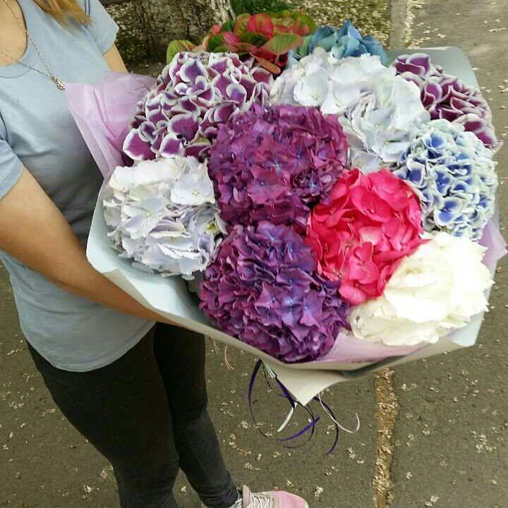 Свадебный букет с гортензией цена, цветы оптом с доставкой недорого екатеринбург