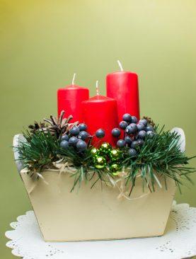 """Новогодняя композиция """"Рождество"""""""