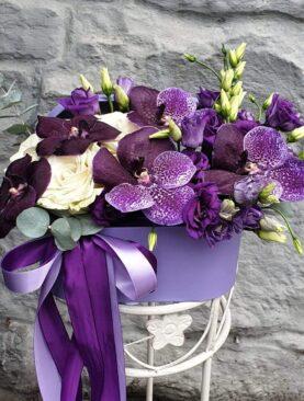 """Цветы в коробке """"Мечтайте"""""""